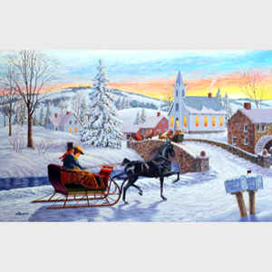 Richard Richard De Wolfe An Old-Fashioned Christmas