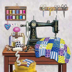 Antique Sewing Room - Lavender