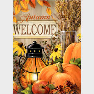 Autumn Welcome - vertical