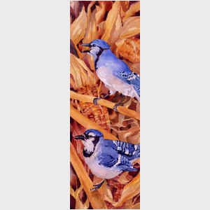 Bluejays and Corn