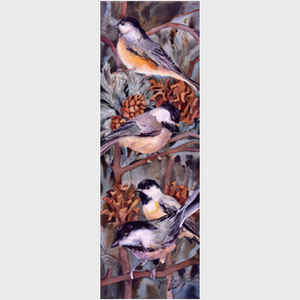 Chickadees in Winter