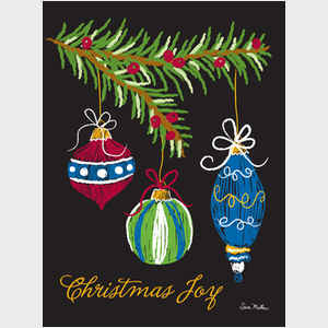 Christmas Joy Ornaments