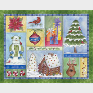 Christmas Sampler horizontal