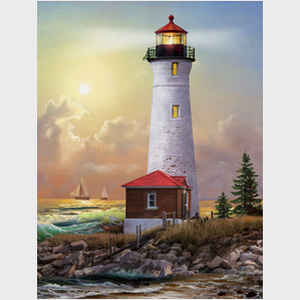 Tom Tom Wood Lighthouses of America