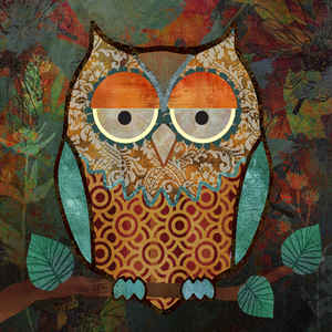 Decorative Owls I