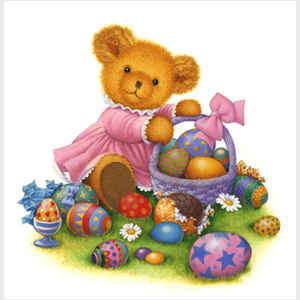 Easter Teddy I