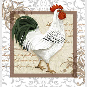 Elegant Rooster Right