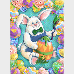 Funny Bunny Painter