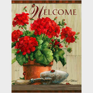 Geranium Welcome