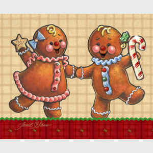 Gingerbread Twins