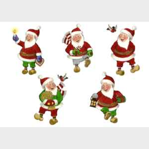 Happy Santa Collection I