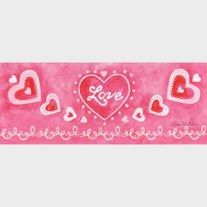 Love banner - horizontal