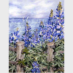 Lupine at the Shore