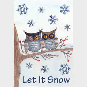 Owls in the Snow