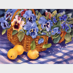 Pansies and Lemons