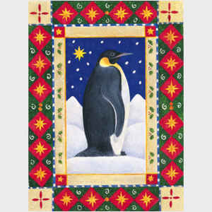 Penguin and Christmas Star