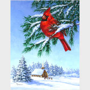 Season's Greetings Cardinal