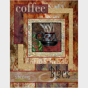 Strong and Black Coffee