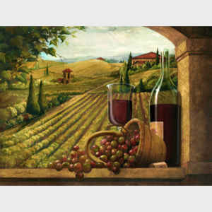 Vineyard Window I