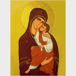 Virgin Mother and Child Icon